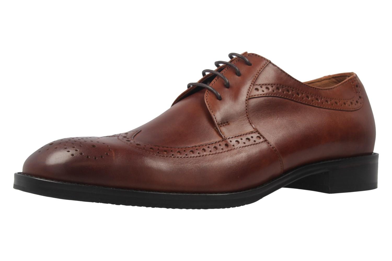 MANZ - Terni - Herren Business Schuhe - Braun Schuhe in Übergrößen – Bild 1