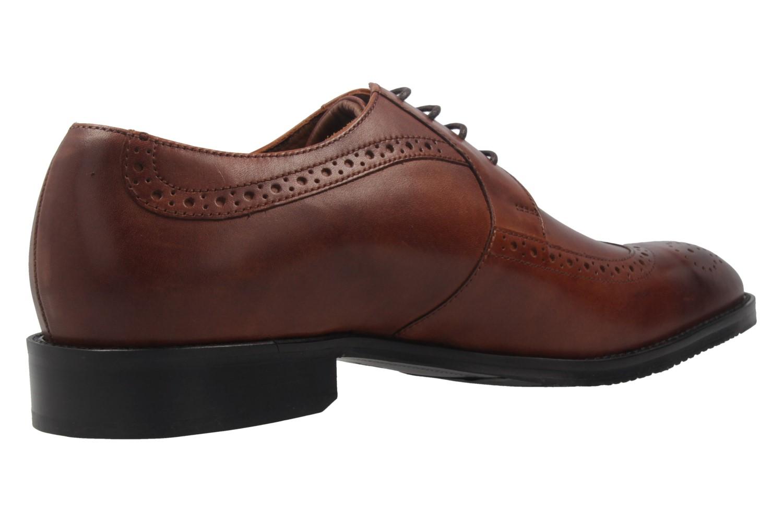 MANZ - Terni - Herren Business Schuhe - Braun Schuhe in Übergrößen – Bild 3
