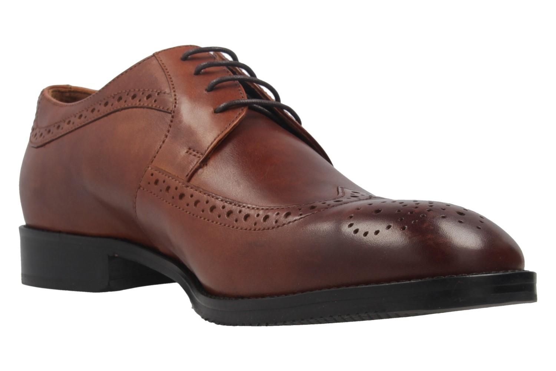 MANZ - Terni - Herren Business Schuhe - Braun Schuhe in Übergrößen – Bild 5