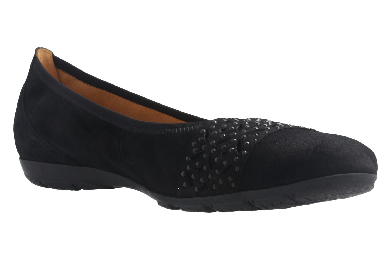 GABOR - Damen Ballerinas - Schwarz Schuhe in Übergrößen – Bild 5