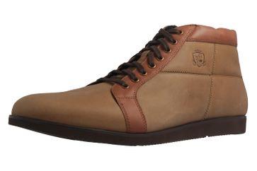 MANZ - Herren Boots - Braun Schuhe in Übergrößen – Bild 1