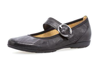 GABOR - Damen Spangenballerinas - Schwarz Schuhe in Übergrößen – Bild 1