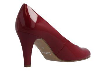 GABOR - Damen Pumps - Lack Rot Schuhe in Übergrößen – Bild 3