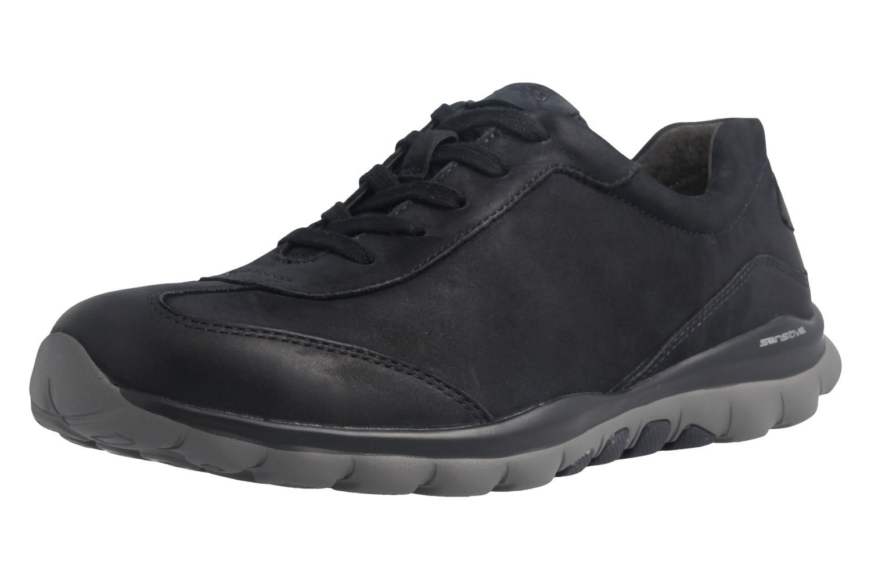 GABOR rollingsoft - Damen Halbschuhe - Blau Schuhe in Übergrößen – Bild 1