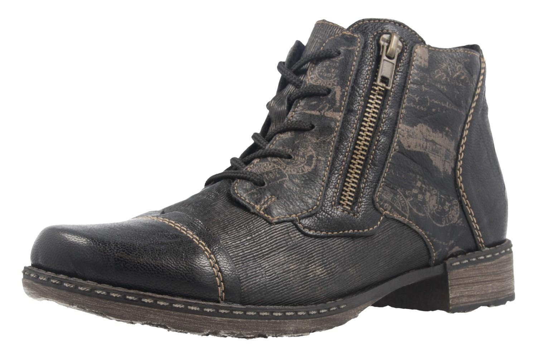 REMONTE - Damen Stiefeletten - Schwarz Schuhe in Übergrößen – Bild 1