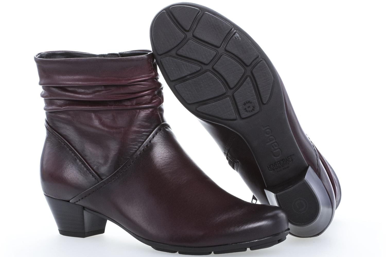 GABOR - Damen Stiefeletten - Rot Schuhe in Übergrößen – Bild 6