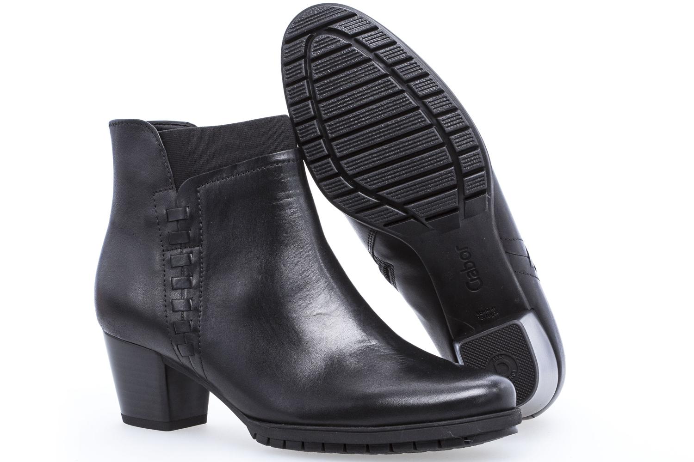 GABOR - Damen Stiefeletten - Schwarz Schuhe in Übergrößen – Bild 6