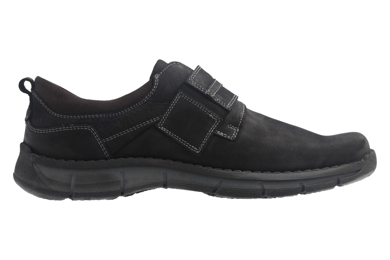 JOSEF SEIBEL - Herren Halbschuhe - Phil 05 - Schwarz Schuhe in Übergrößen – Bild 4