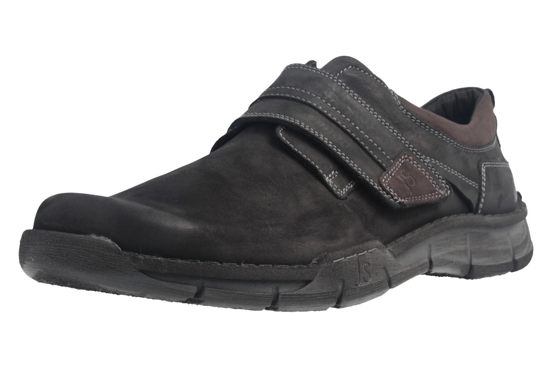 JOSEF SEIBEL - Herren Halbschuhe - Phil 05 - Schwarz Schuhe in Übergrößen – Bild 1
