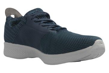 SKECHERS - Damen Sneaker - GO WALK 4  SUSTAIN - Blau Schuhe in Übergrößen – Bild 5