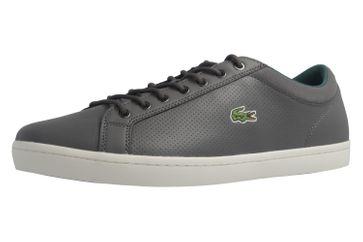 LACOSTE - Herren Sneaker - Straightset SP 317 - Grau Schuhe in Übergrößen – Bild 1