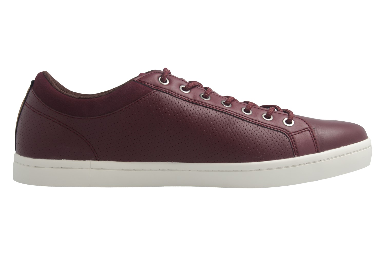 Lacoste Sneaker in Übergrößen Rot 7-34CAM00631V9 große Herrenschuhe – Bild 5