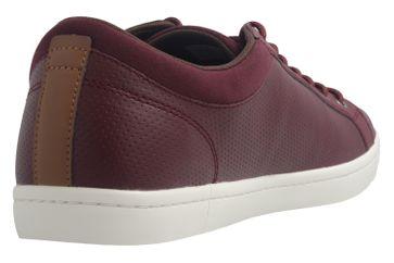 Lacoste Sneaker in Übergrößen Rot 7-34CAM00631V9 große Herrenschuhe – Bild 4