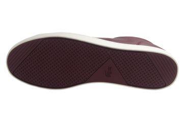 LACOSTE - Herren Sneaker - Straightset SP 317 - Burgund Schuhe in Übergrößen – Bild 7