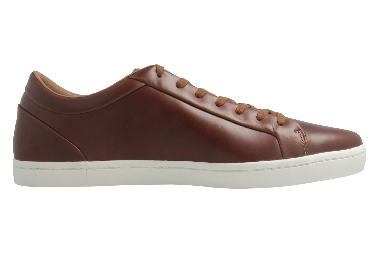 LACOSTE - Herren High Class Luxery Sneaker - Straightset 317 -  Braun Schuhe in Übergrößen – Bild 5