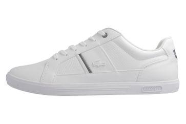 LACOSTE - Herren Sneaker -Europa 417 1 SPM - Weiß Schuhe in Übergrößen – Bild 2