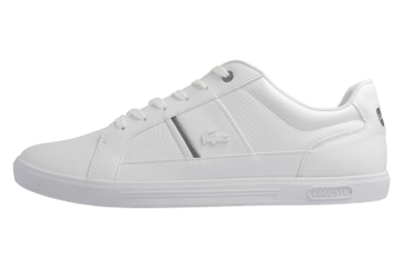 Lacoste Sneaker in Übergrößen Weiß 7-34SPM0044001 große Herrenschuhe