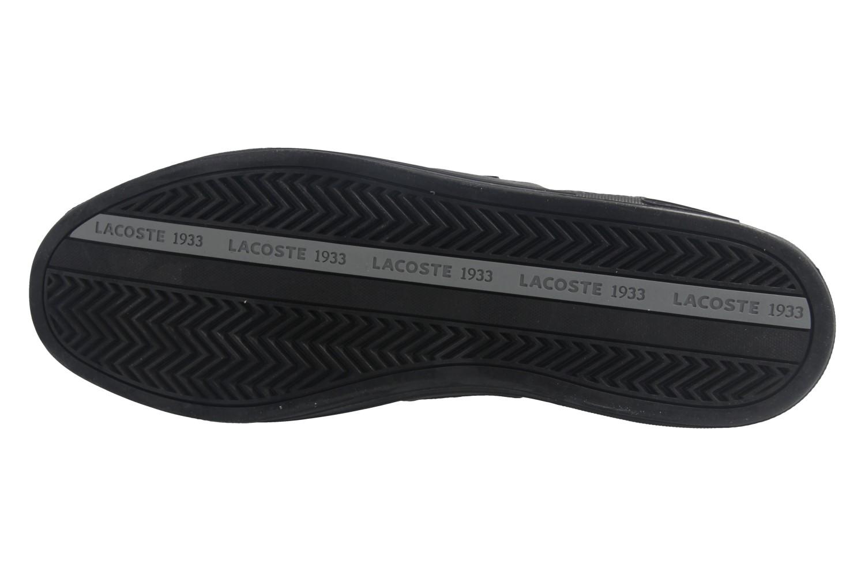 Lacoste Sneaker in Übergrößen Schwarz 7-34SPM0044024 große Herrenschuhe – Bild 7