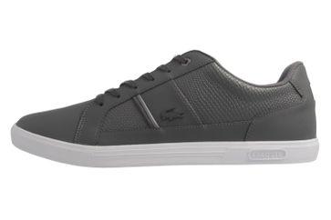 LACOSTE - Herren Sneaker -Europa 417 1 SPM - Grau Schuhe in Übergrößen – Bild 2