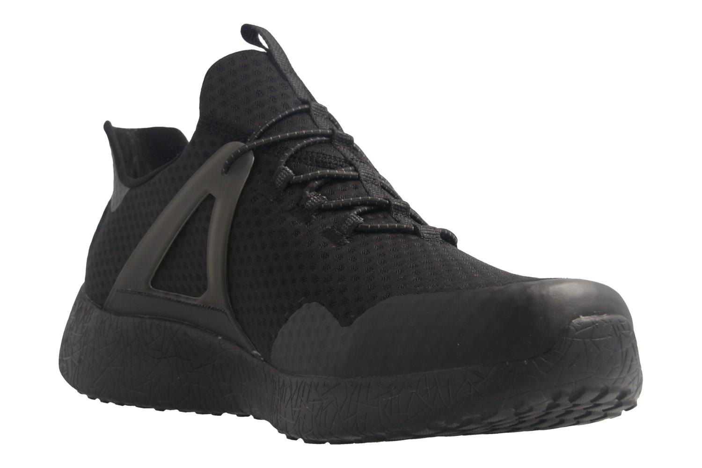 SKECHERS - Burst-Shinz - Herren Halbschuhe - Schwarz Schuhe in Übergrößen – Bild 6
