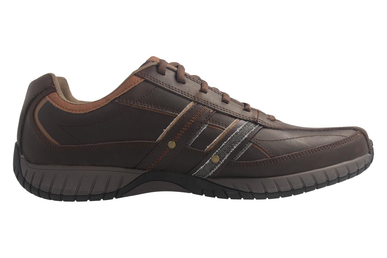 SKECHERS - Sendro-BRUSCO - Herren Sneaker - Braun Schuhe in Übergrößen – Bild 5