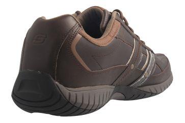 SKECHERS - Sendro-BRUSCO - Herren Sneaker - Braun Schuhe in Übergrößen – Bild 4