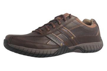 SKECHERS - Sendro-BRUSCO - Herren Sneaker - Braun Schuhe in Übergrößen – Bild 1