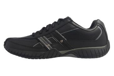 SKECHERS - Sendro-BRUSCO - Herren Sneaker - Schwarz Schuhe in Übergrößen – Bild 2