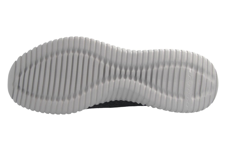 Skechers Sneaker in Übergrößen Schwarz 52642 BKGY große Herrenschuhe – Bild 8