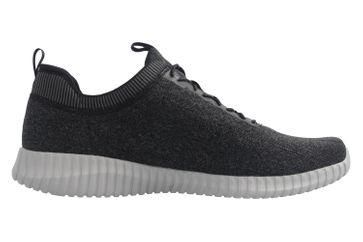 Skechers Sneaker in Übergrößen Schwarz 52642 BKGY große Herrenschuhe – Bild 5