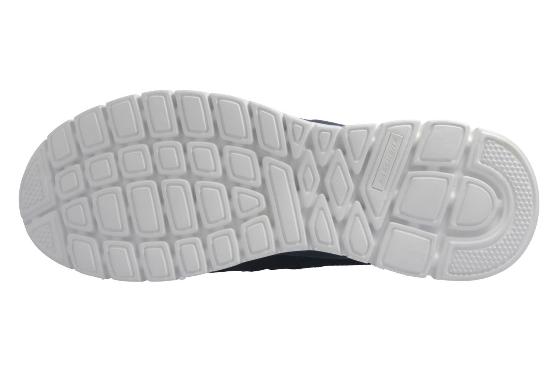 Skechers Sneaker in Übergrößen Blau 52635 NVY große Herrenschuhe – Bild 7