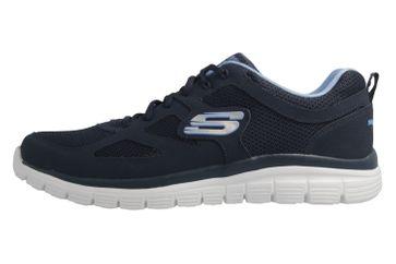 Skechers Sneaker in Übergrößen Blau 52635 NVY große Herrenschuhe – Bild 2