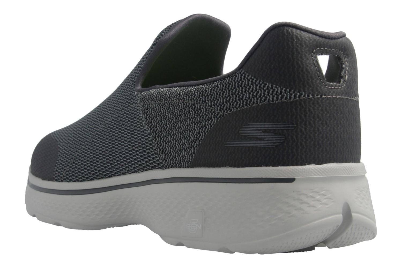 SKECHERS - Herren Slipper - GO WALK 4 Expert - Grau Schuhe in Übergrößen – Bild 3