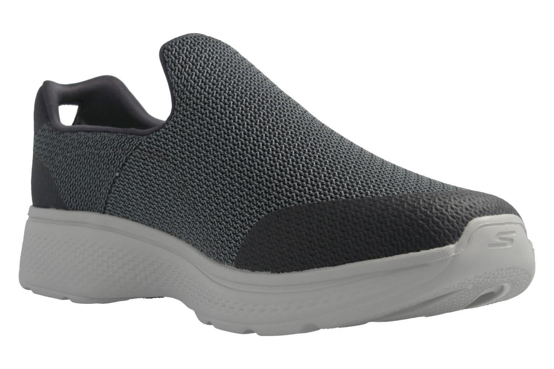 SKECHERS - Herren Slipper - GO WALK 4 Expert - Grau Schuhe in Übergrößen – Bild 6