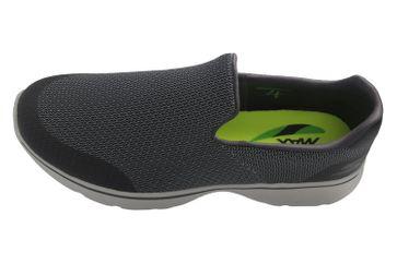 SKECHERS - Herren Slipper - GO WALK 4 Expert - Grau Schuhe in Übergrößen – Bild 7