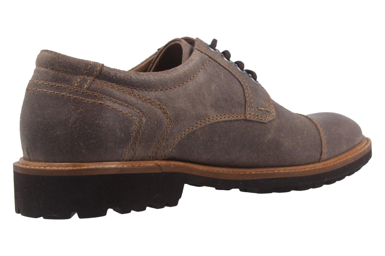 MANZ - Herren Business Schuh - Rock Suede Eva - Braun Schuhe in Übergrößen – Bild 3