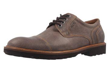 Manz Business Schuh in Übergrößen Braun 146065 03 187 große Herrenschuhe – Bild 1