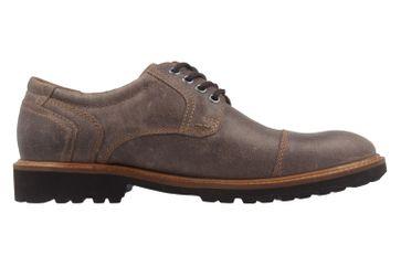 Manz Business Schuh in Übergrößen Braun 146065 03 187 große Herrenschuhe – Bild 4