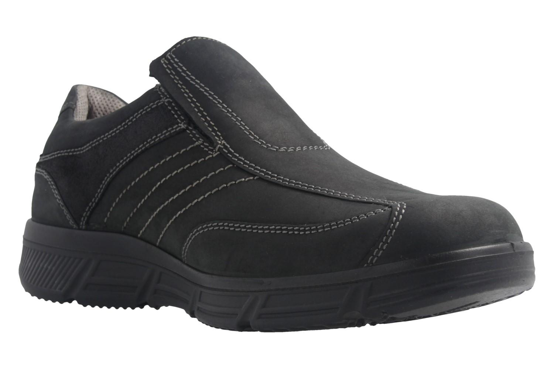 JOMOS - Herren Slipper - Schwarz Schuhe in Übergrößen – Bild 5