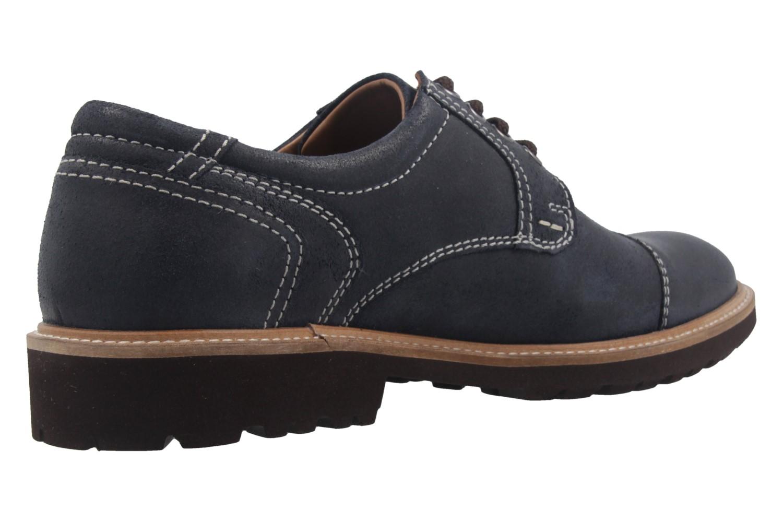 MANZ - Herren Business Schuh - Rock Suede Eva - Blau Schuhe in Übergrößen – Bild 3