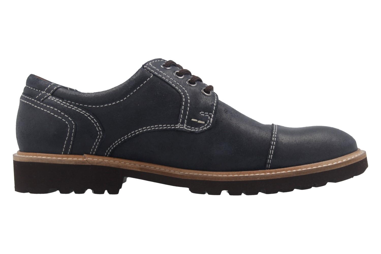 MANZ - Herren Business Schuh - Rock Suede Eva - Blau Schuhe in Übergrößen – Bild 4