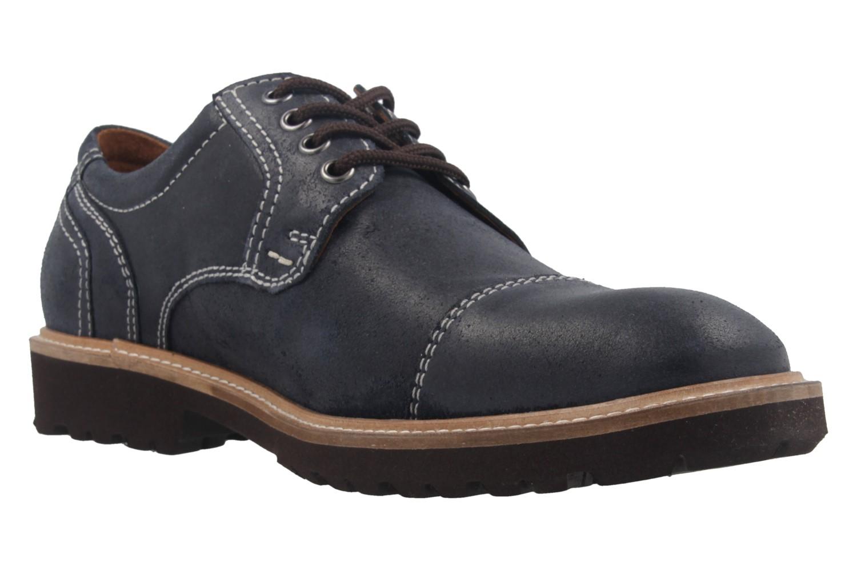 MANZ - Herren Business Schuh - Rock Suede Eva - Blau Schuhe in Übergrößen – Bild 5