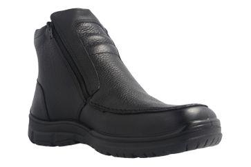 Jomos Stiefel in Übergrößen Schwarz 416501 33 000 große Herrenschuhe – Bild 5