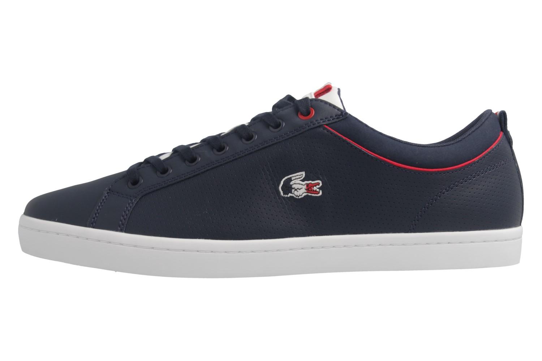 Lacoste Sneaker in Übergrößen Blau 7-34CAM0064003 große Herrenschuhe – Bild 2