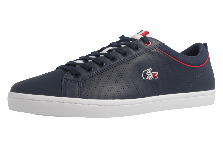 LACOSTE - Herren Sneaker - Straightset SP 317 - Blau Schuhe in Übergrößen – Bild 1