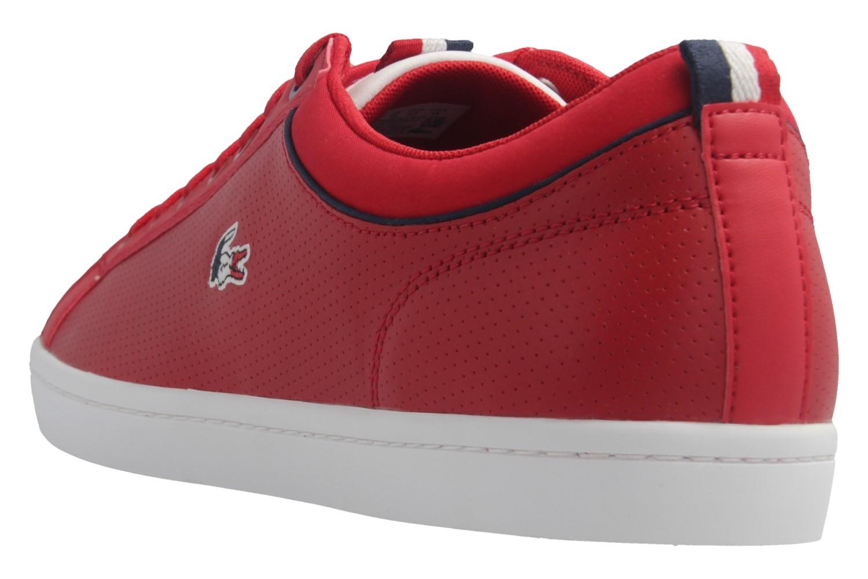 LACOSTE - Herren Sneaker - Straightset SP 317 - Rot Schuhe in Übergrößen – Bild 3