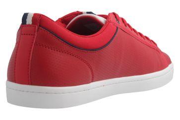 LACOSTE - Herren Sneaker - Straightset SP 317 - Rot Schuhe in Übergrößen – Bild 4