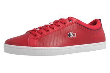 Lacoste Sneaker in Übergrößen Rot 7-34CAM0064047 große Herrenschuhe