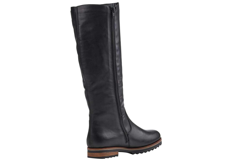 Remonte Stiefel in Übergrößen Schwarz R2277-01 große Damenschuhe – Bild 2