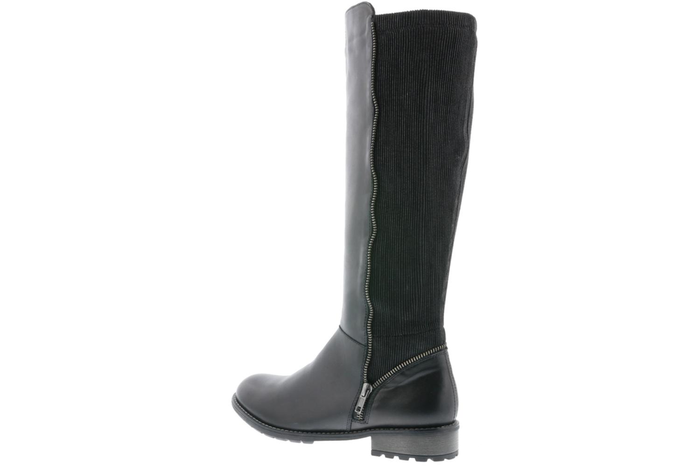 Remonte Stiefel in Übergrößen Schwarz R3325-01 große Damenschuhe – Bild 3